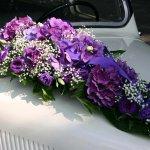 1.13 Gesteck mit Blumen der Saison, € 74,-