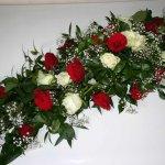 1.15 Gesteck mit Blumen der Saison