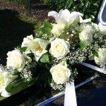 1.17 Gesteck mit Blumen der Saison