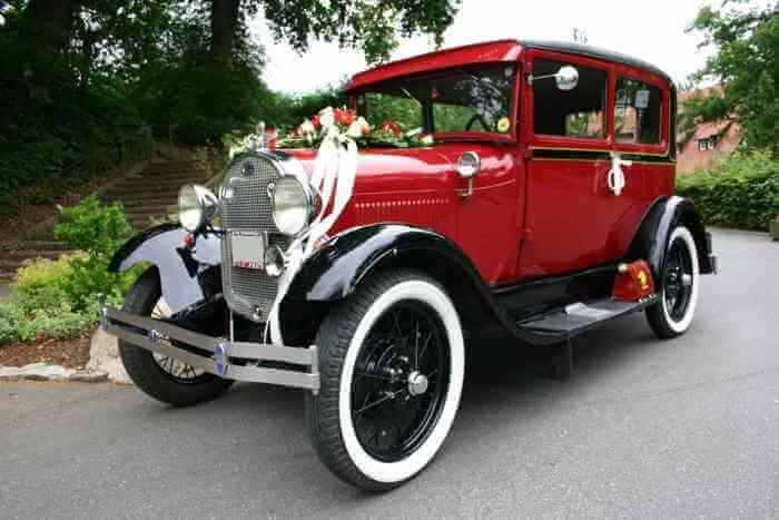 Ford-Model-A-Tudor Oldtimer mieten in Münster